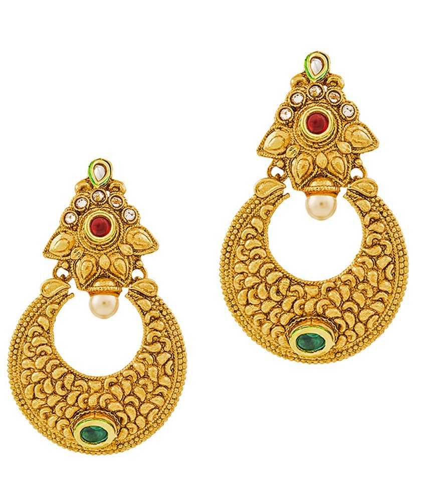 RG Fashions Golden Earring