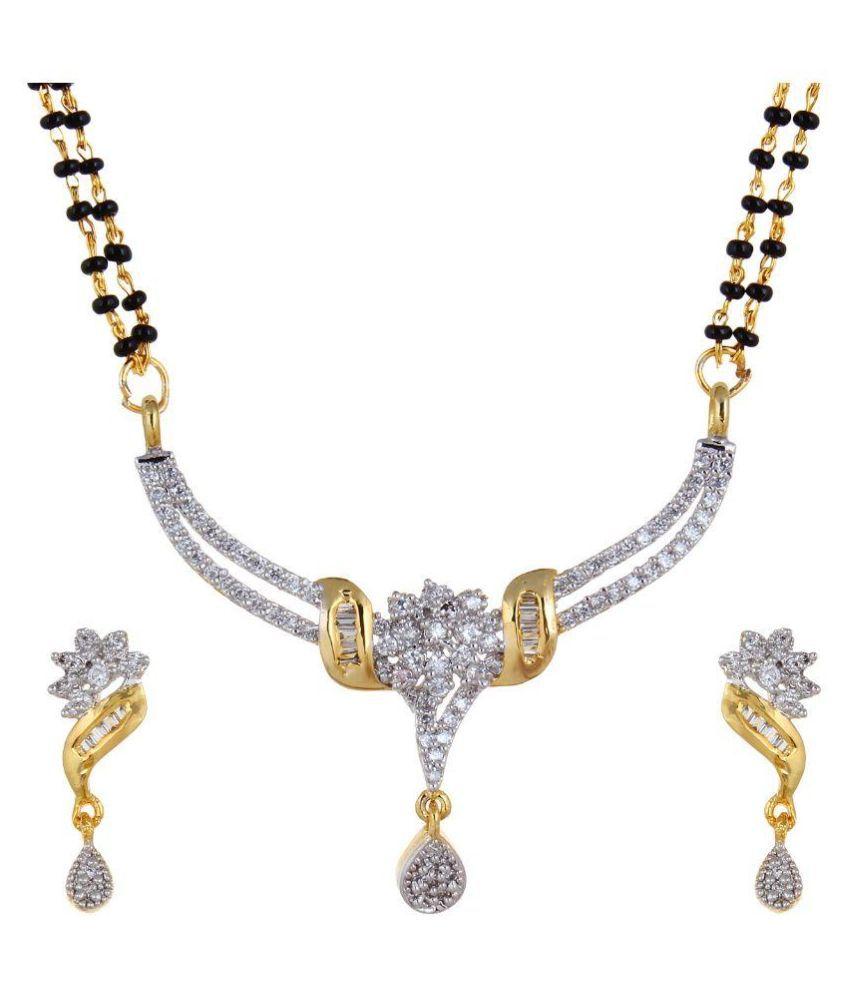 AVS Diamonds Multicolour Mangalsutra Set