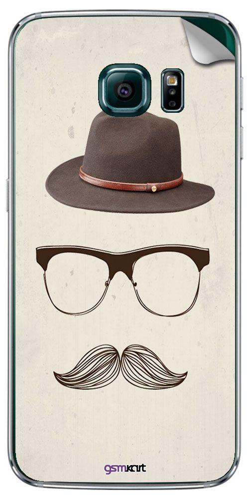 Samsung Galaxy S6 Edge Plus Designer Stickers by GsmKart - Multi