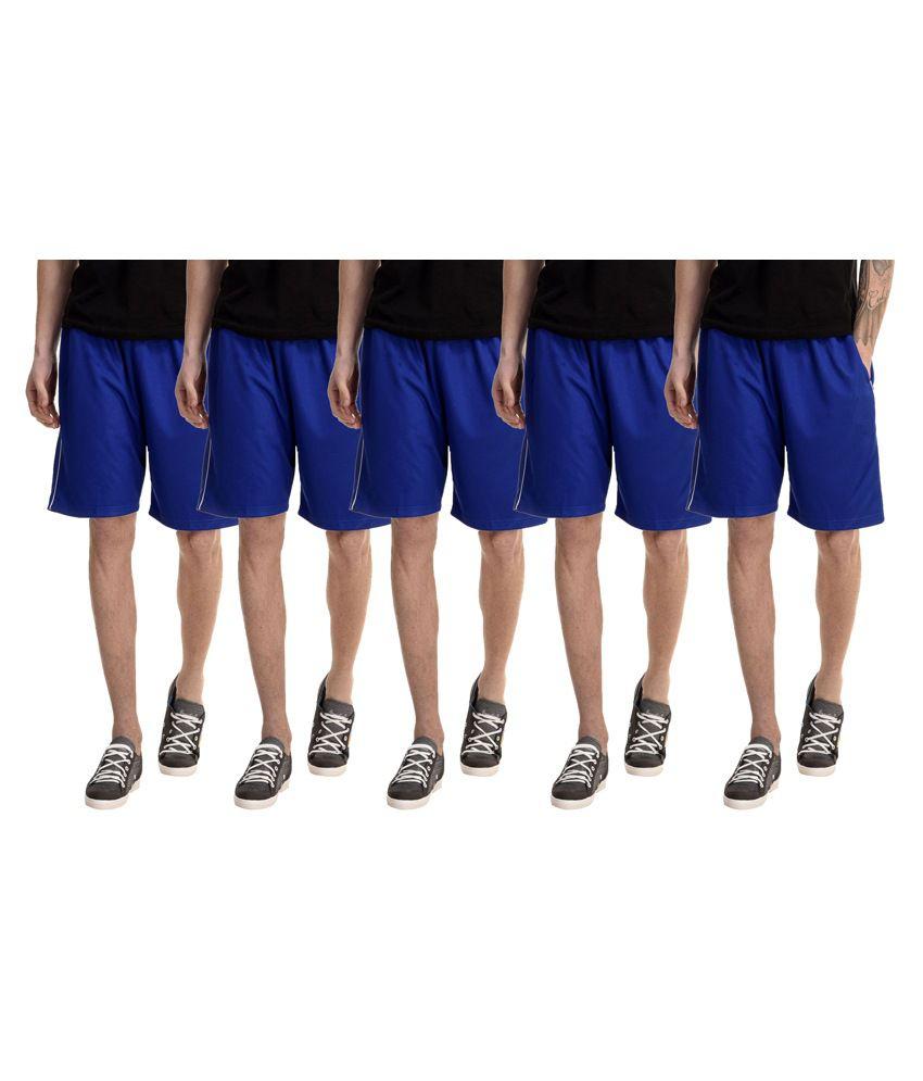 Gaushi Blue Shorts Pack of 5