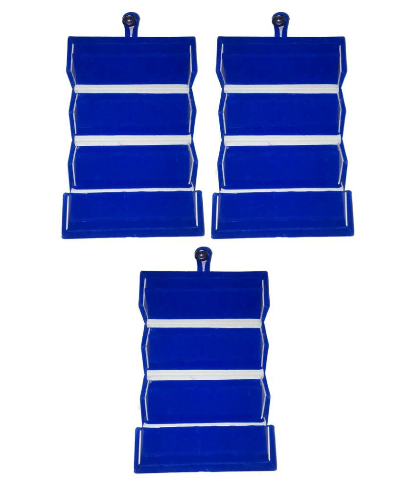 Abhinidi Blue Earrings Boxes - Pack of 3