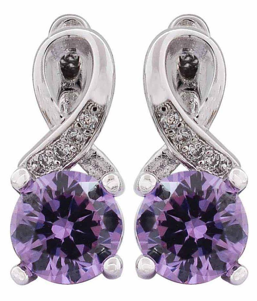 Maayra Multicolour Huggies Earrings