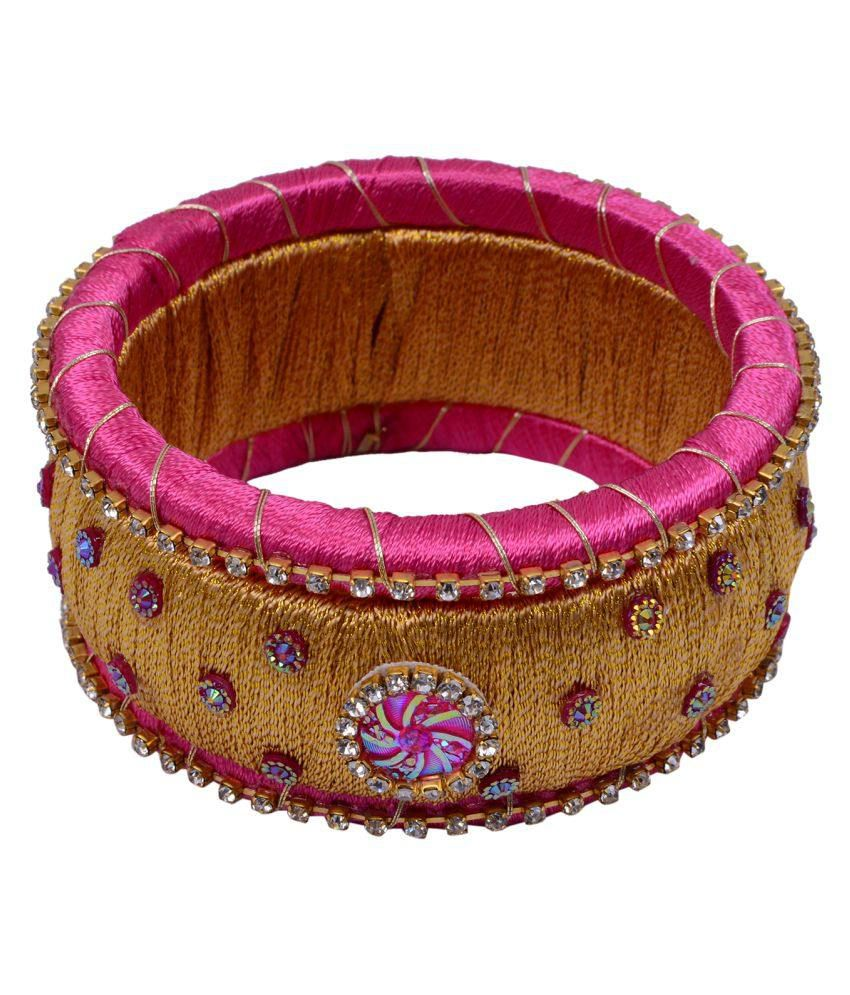 Photron Multicolour Bangle Set (3 Pieces)