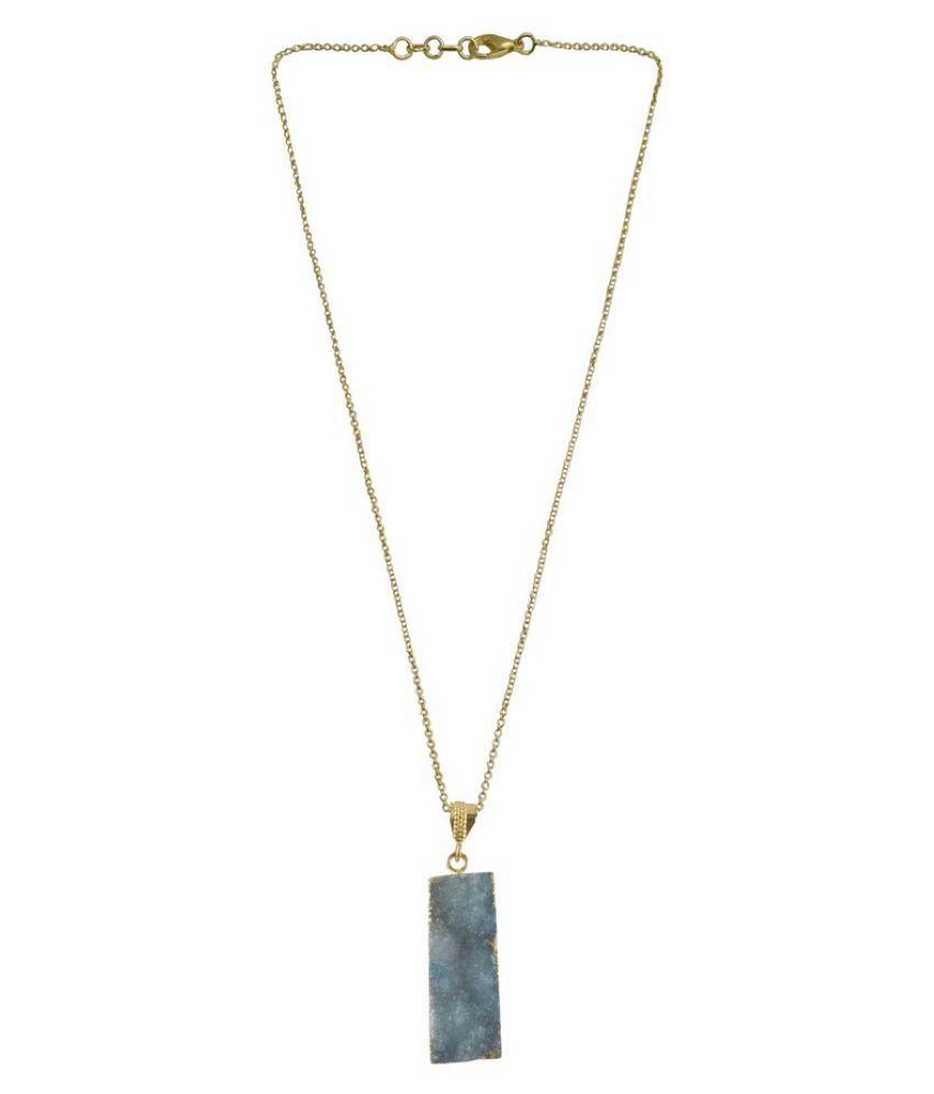Rejewel Blue Pendant