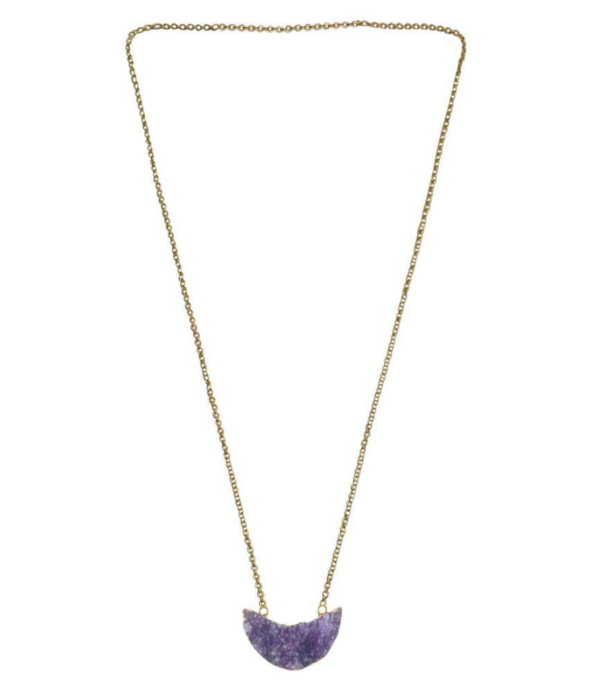 Rejewel Purple Pendant