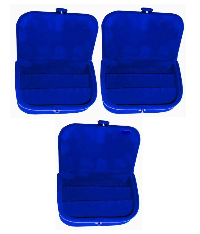Abhinidi Blue Earrings Boxes - Pack of 3