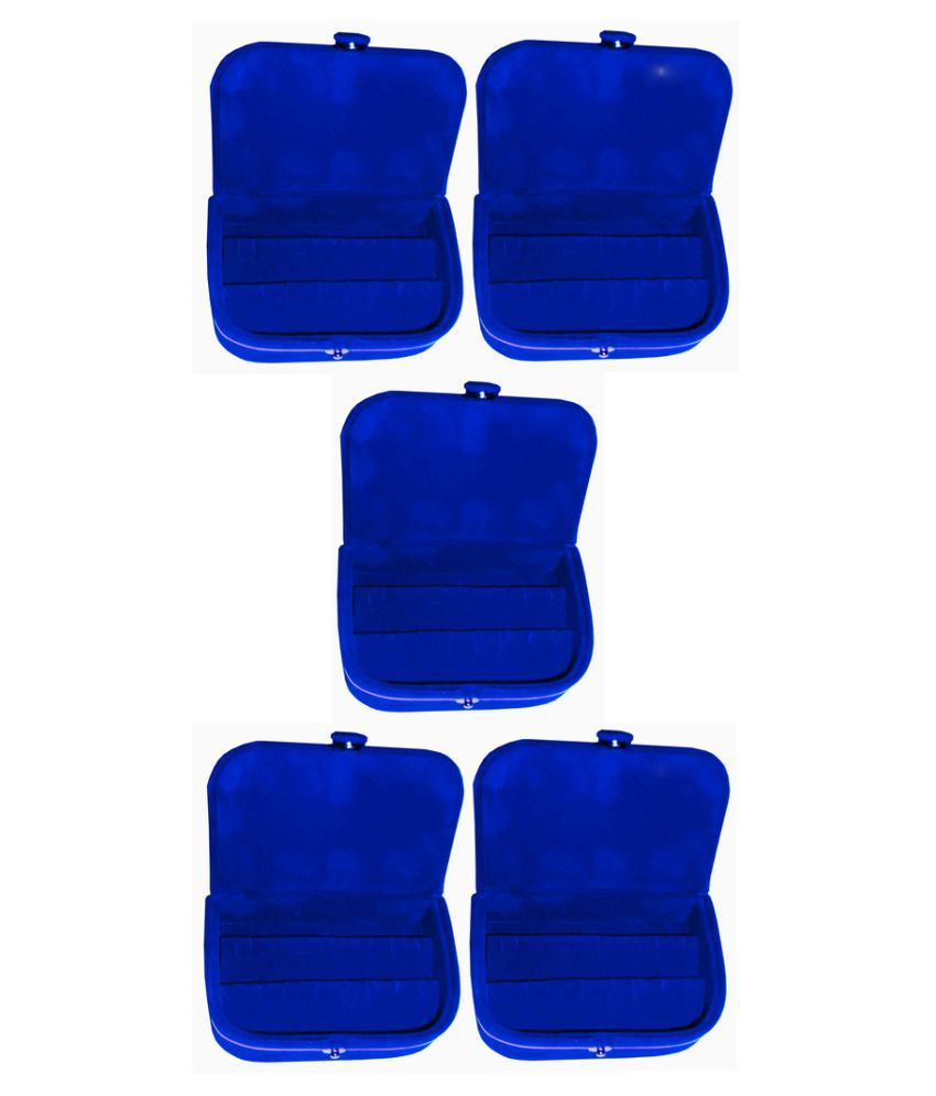 Abhinidi Blue Earrings Boxes - Pack of 5