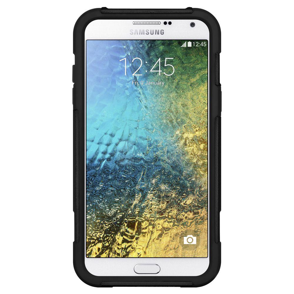 Amzer Back Cover For Samsung Galaxy E5 Sm E500 Black Plain