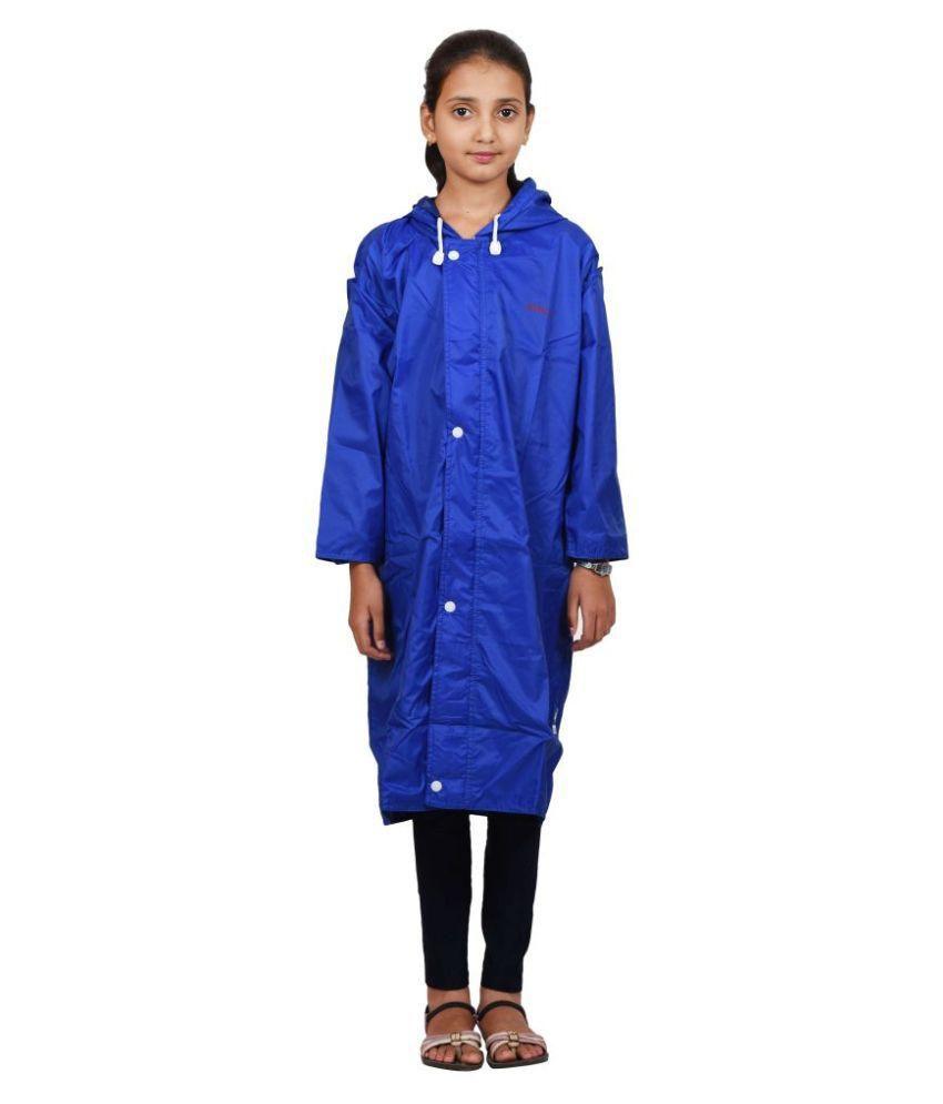 Versalis Blue Polyester Raincoat