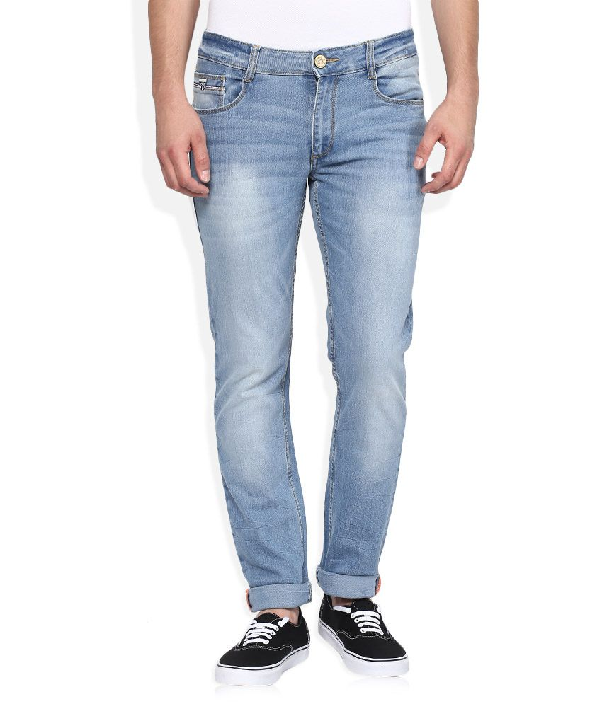 John Players Blue Skinny Fit Jeans
