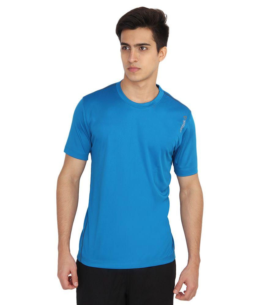 Reebok Blue Round T-Shirt