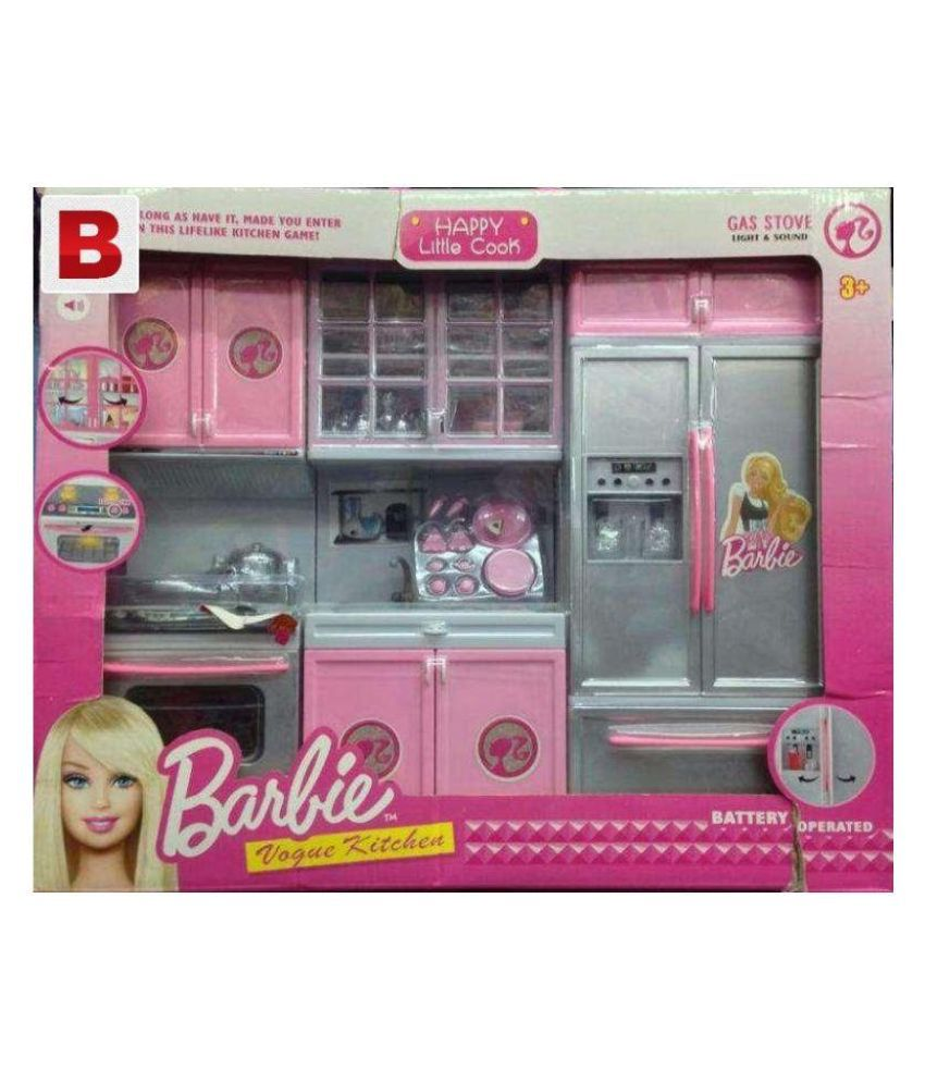 Oom Barbie Kitchen Set Buy Oom Barbie Kitchen Set Online At Low Price Snapdeal