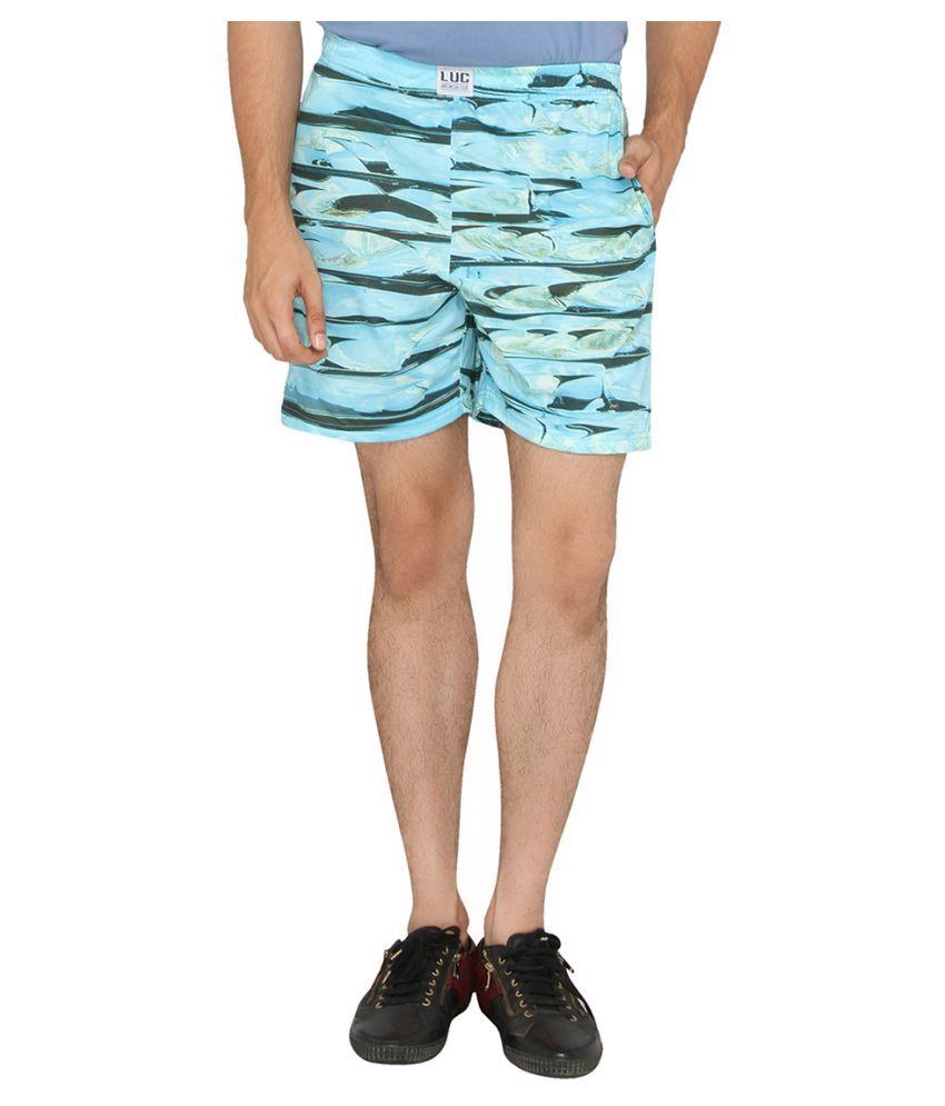 LUCfashion Blue Shorts