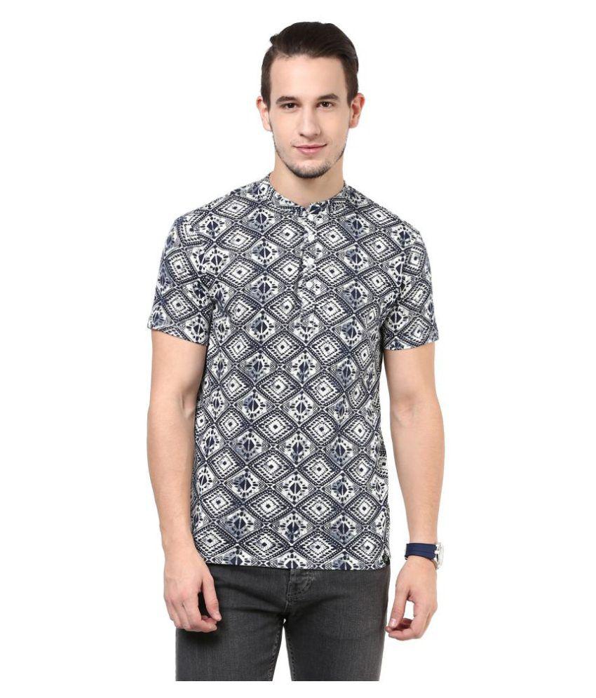 Cotton Fruitz Multi Round T-Shirt