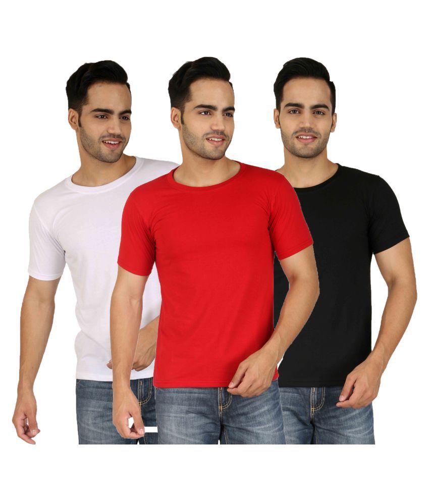 Nimya Multi Round T-Shirt Pack of 3