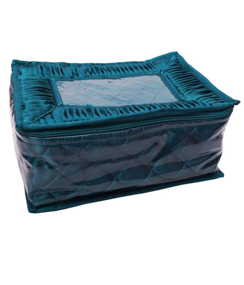 Hanu Enterprises Turquoise Jewellery Box