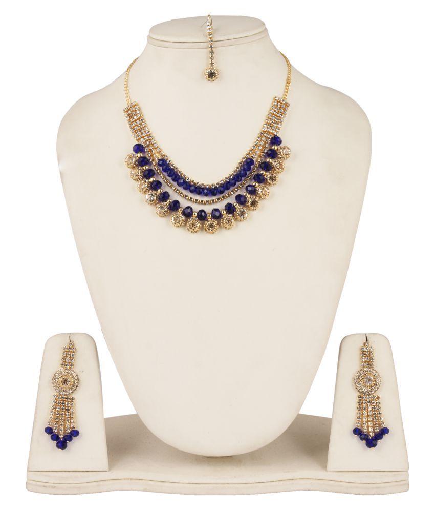 Fanvi Multicolour Alloy Necklace Set