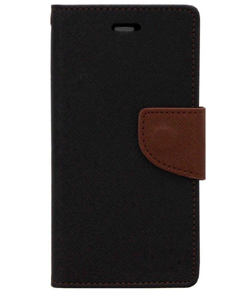 Karbonn Titanium Octane Plus Flip Cover by Zocardo - Black ...