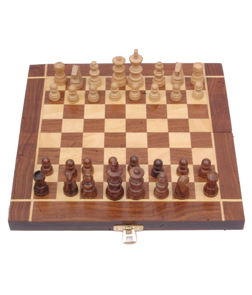 82a37a215 Sparkle India Brown Chess Board  Buy Online at Best Price on Snapdeal