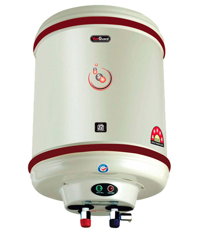 Voltguard 25 Ltr Water Heater Hotline 5 Star Ivory