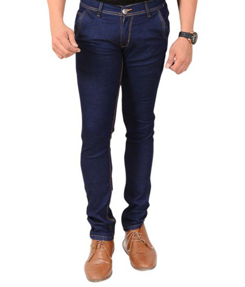 Montare Club Navy Blue Slim Washed