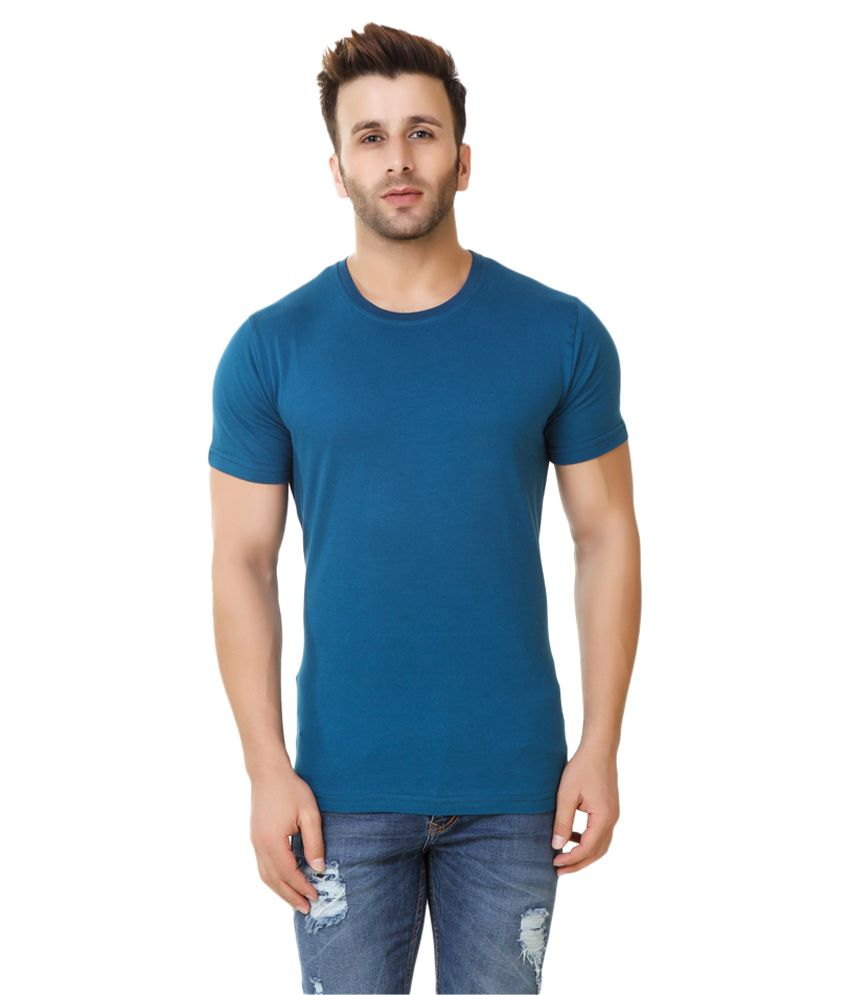 Fabstone Collection Blue Round T-Shirt