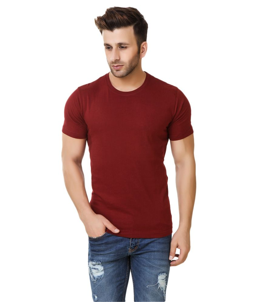 Fabstone Collection Red Round T-Shirt