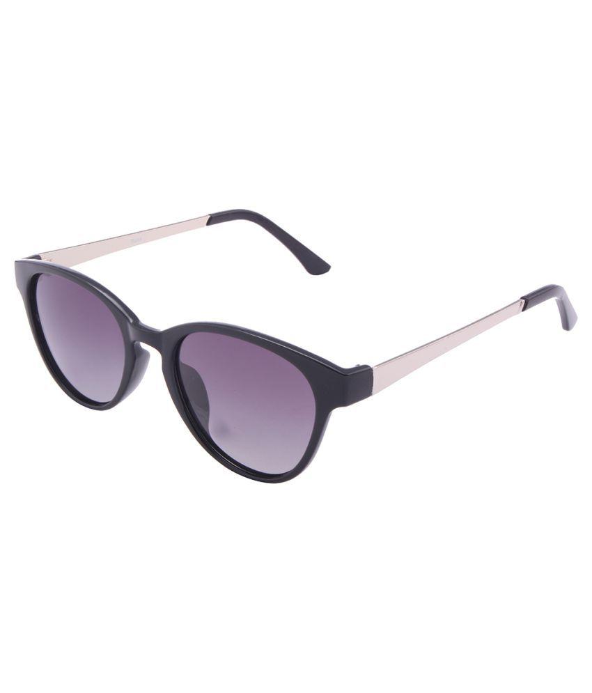 Fluxx purple Oval Sunglasses ( Fluxx-US0903-Black )