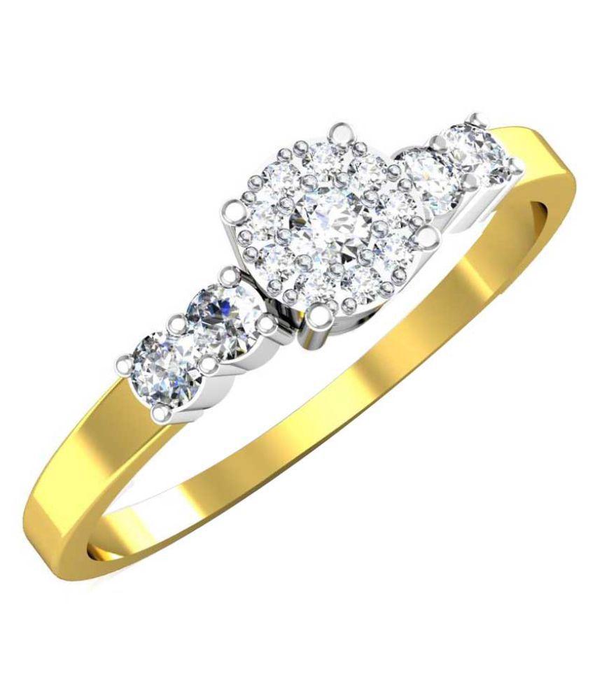 Avsar 18k Gold Diamond Ring