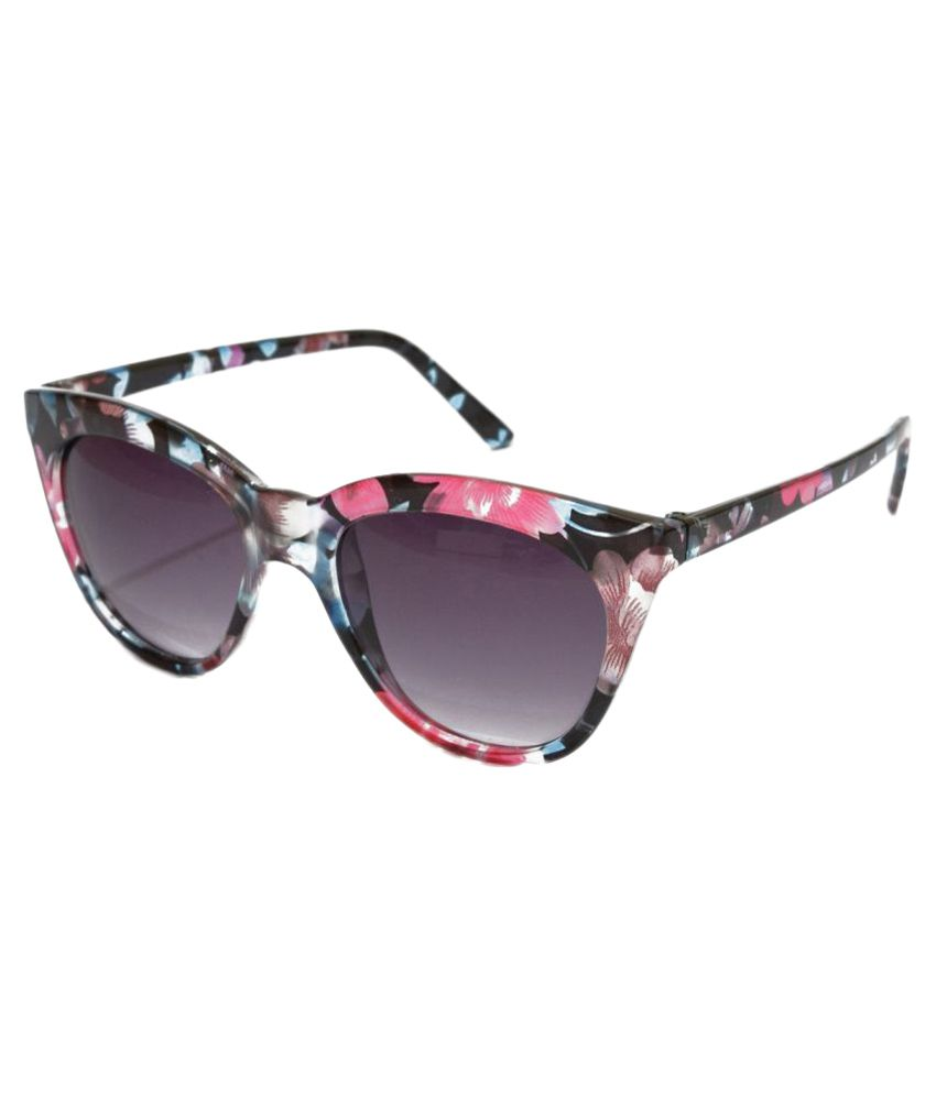 Sunrayz Blue Cat Eye Sunglasses ( Pcat_eye )