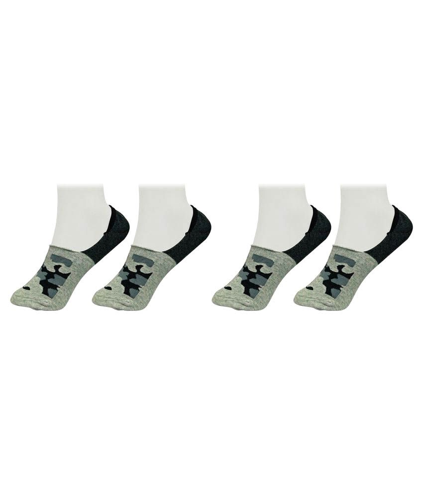Gold Dust Multicolour Low Cut Socks - 2 Pair Pack