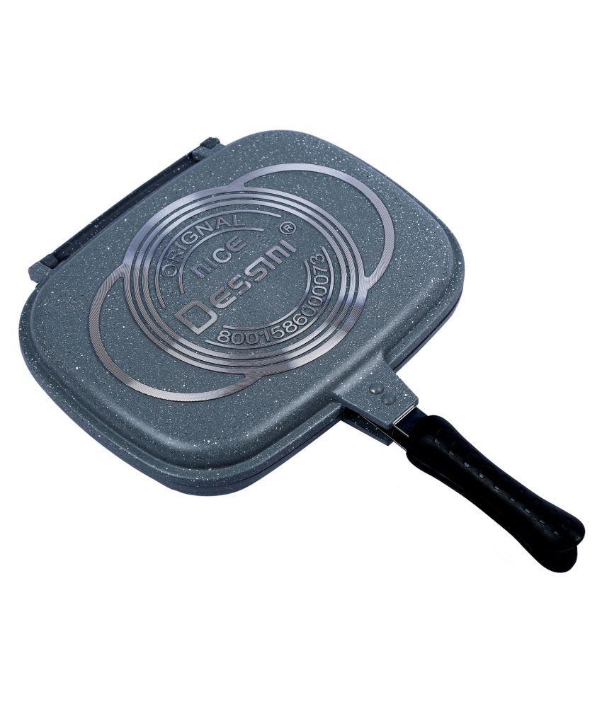 Home creations non stick aluminum roasting pan 32 1000 for Home creations