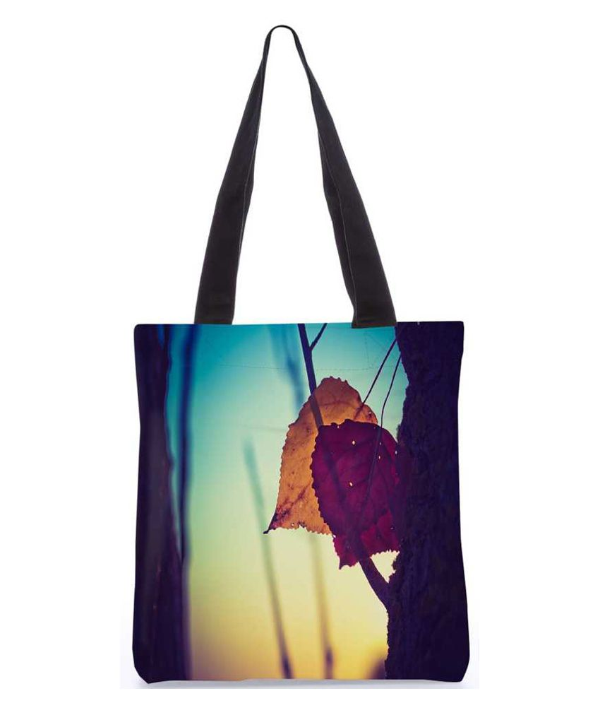 Snoogg Multi Canvas Tote Bag