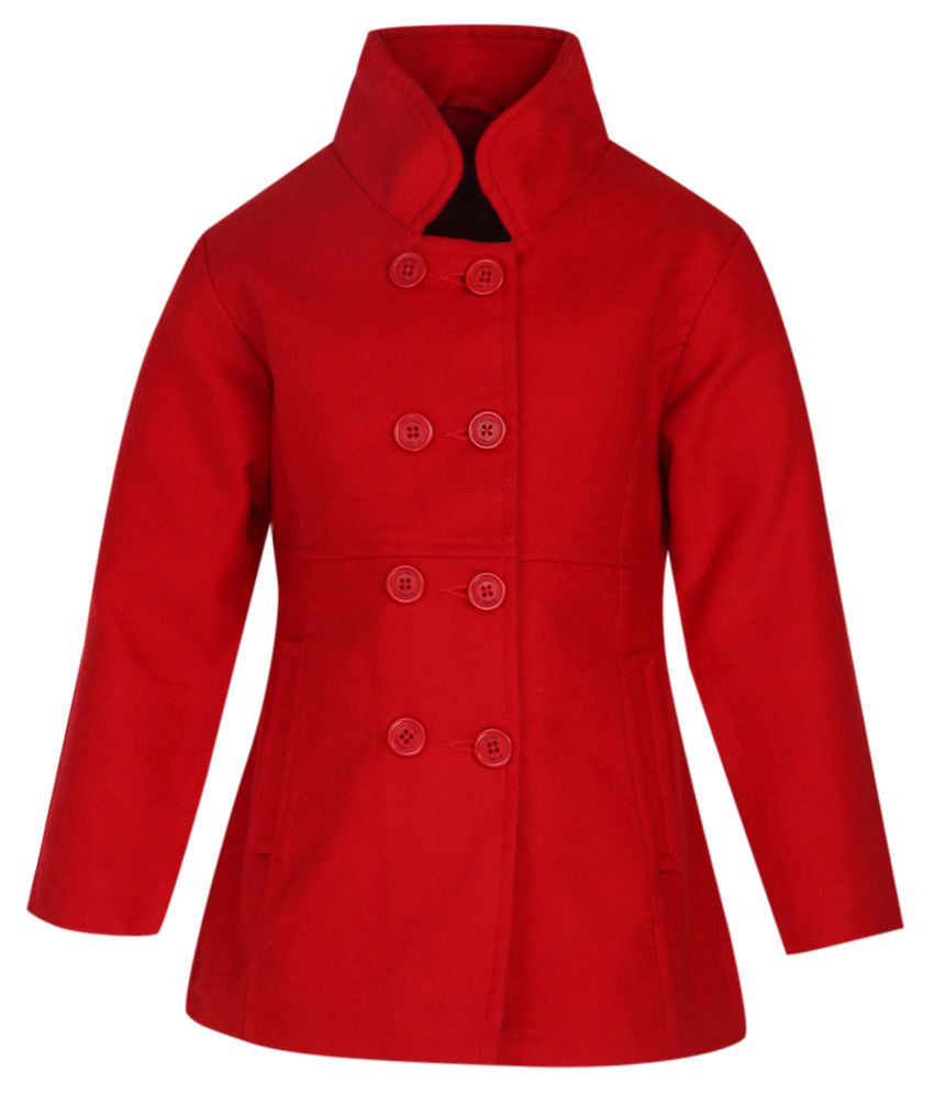 612 League Red Solid Coat
