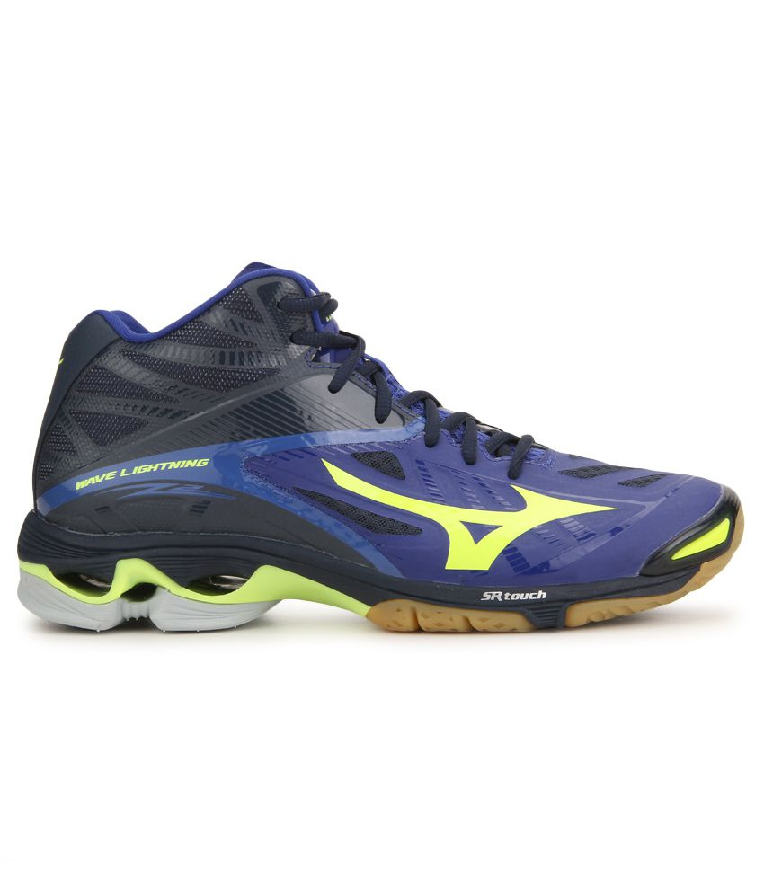 ... Mizuno Wave Lightning Z2 Mid Multi Color Badminton Sports Shoes ...