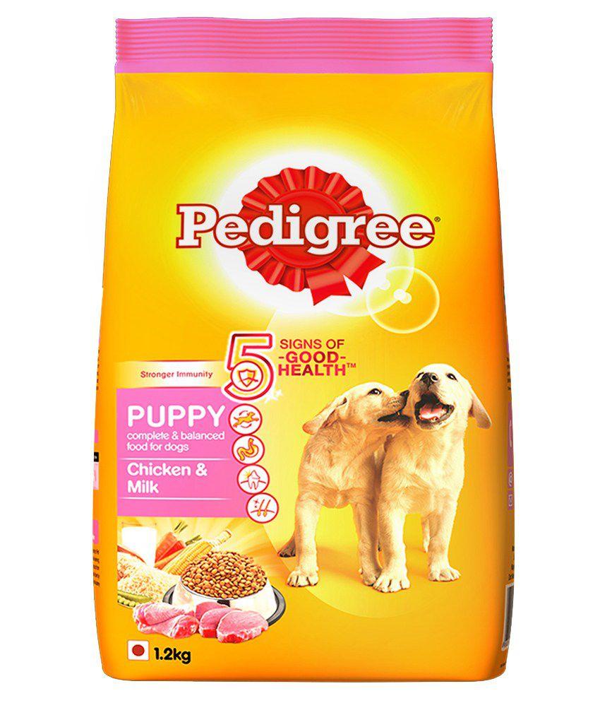 Pedigree Dog Food Puppy Chicken Amp