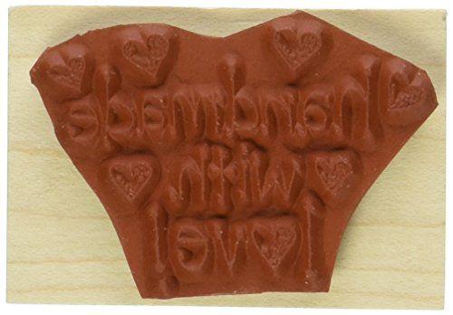 Hero Arts Handmade with Love Woodblock Stamp