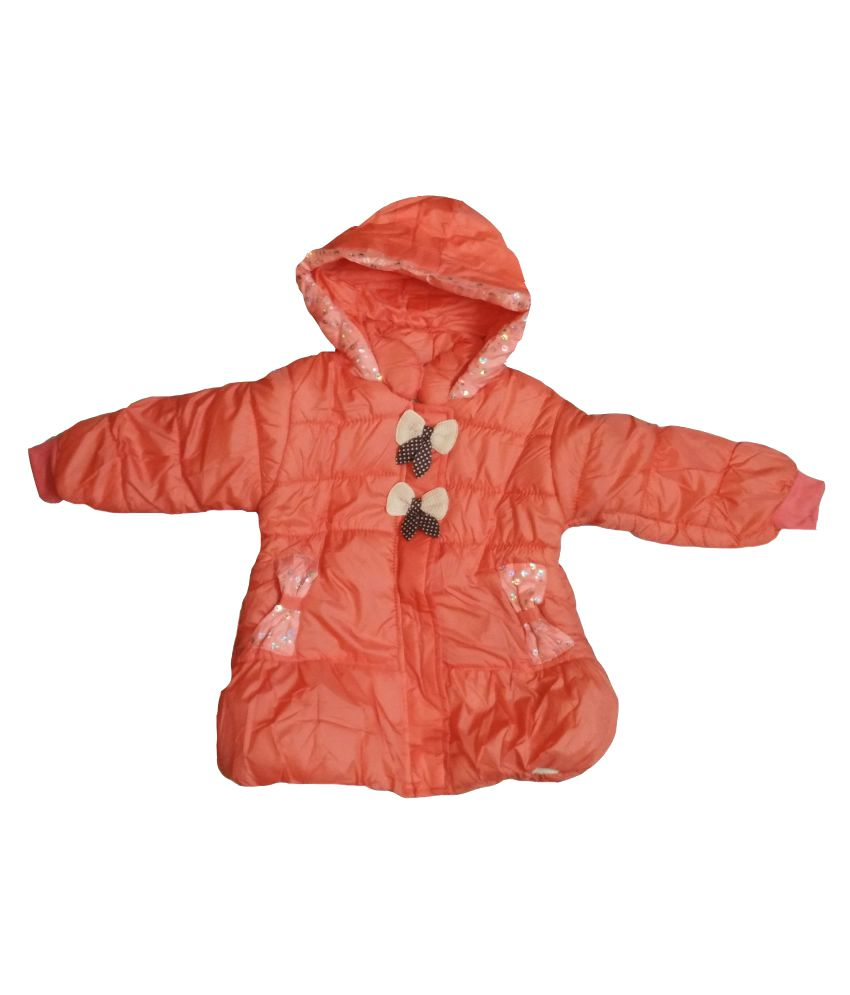 Assent Store Orange Polyester Jacket