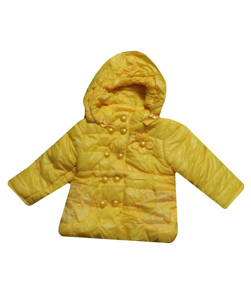 Assent Store Yellow Polyester Jacket