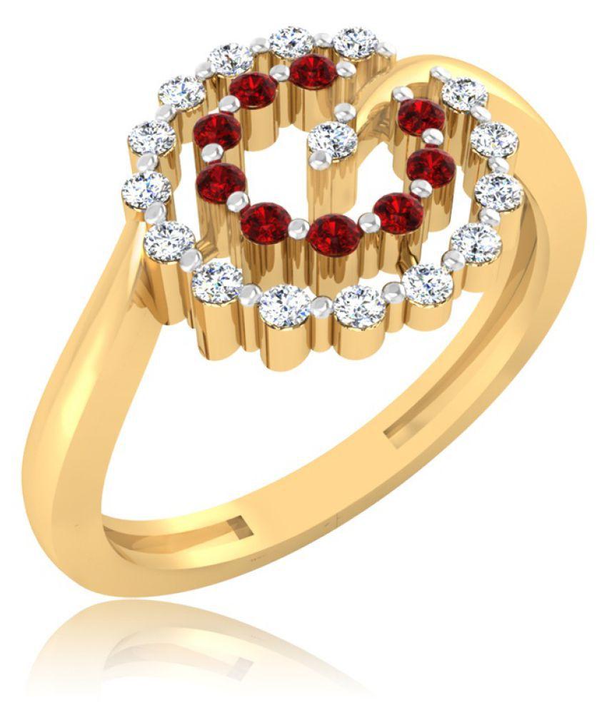 Carat Forever 18k Gold Peridot Ring