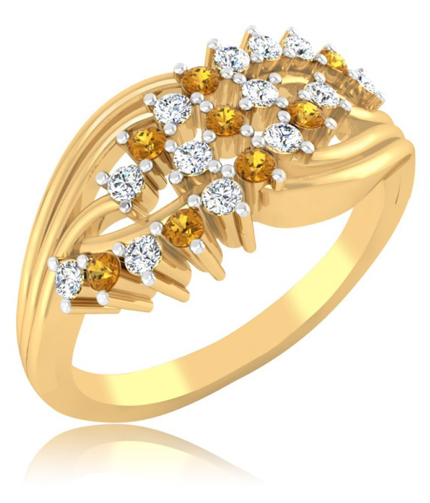 Carat Forever 18k Gold Sapphire Ring
