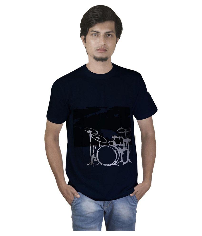 Collegiate Navy Round T-Shirt