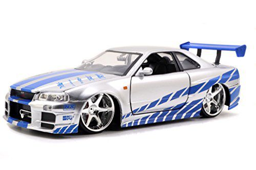 fast furious brian s nissan skyline gt r r34 1 24 scale rh snapdeal com