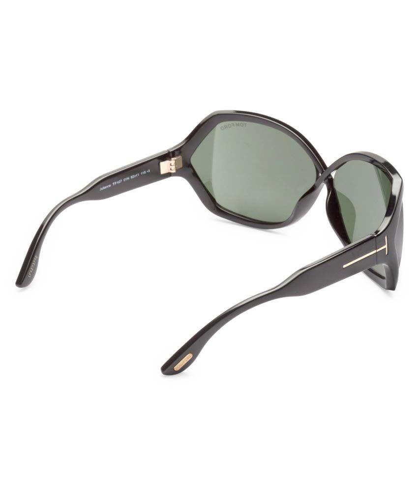 a1c31a0a18f05 ... Tom Ford Green Oversized Sunglasses ( JULIANNE 427 01N