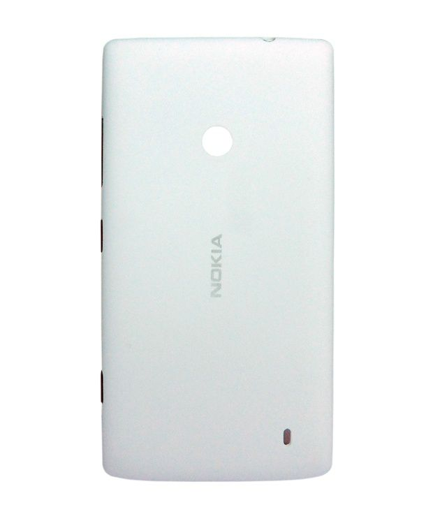 Indiacod Back Replacement For Nokia Lumia 520 - White