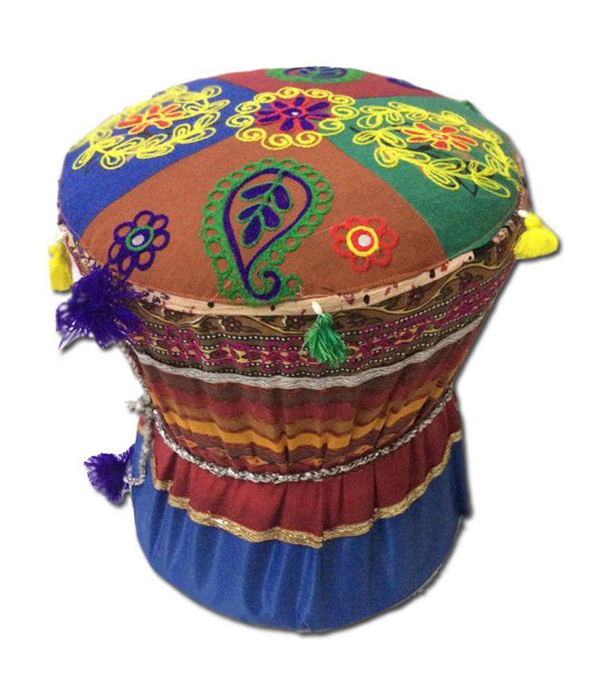 Rang Rohi Decorative Traditional Rajasthani Mudda