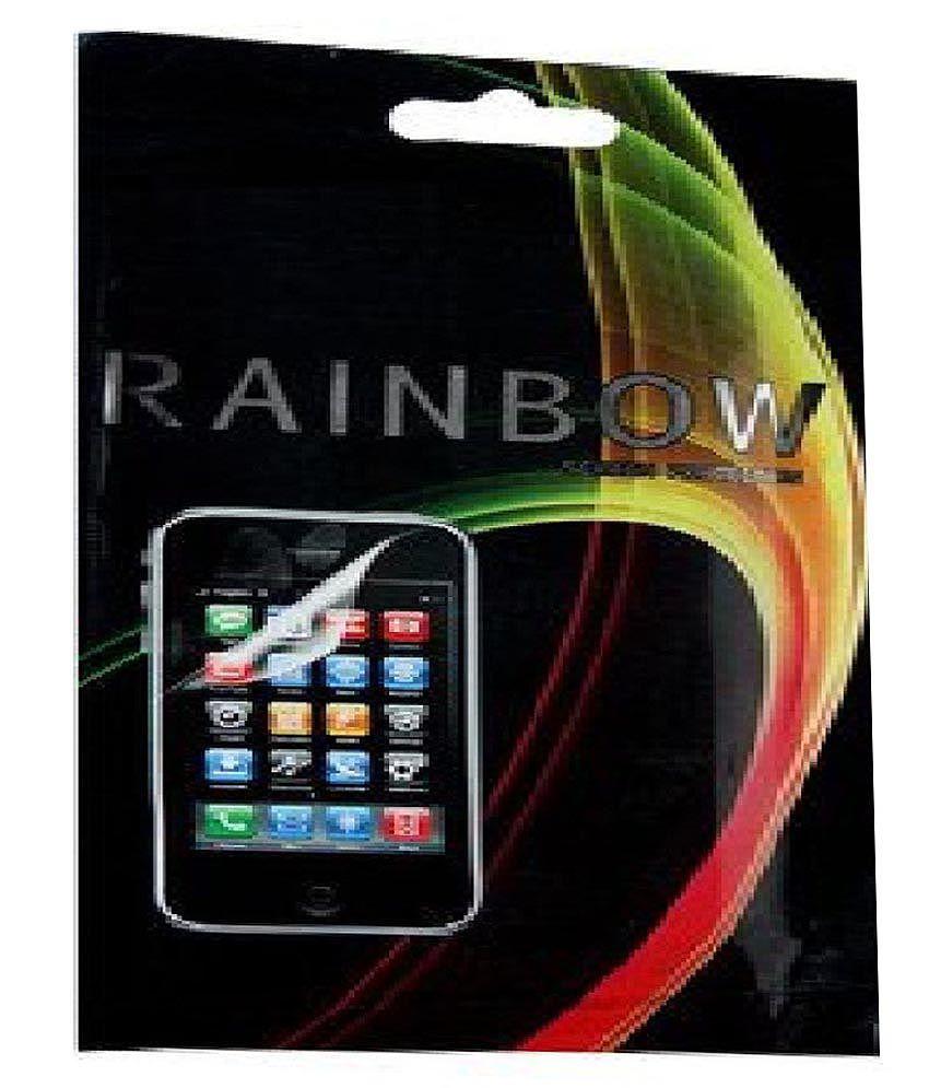 Rainbow Antiglare Screen Guard For Htc Desire Hd