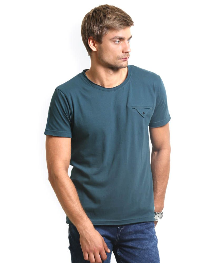 HW Green Cotton T-Shirt