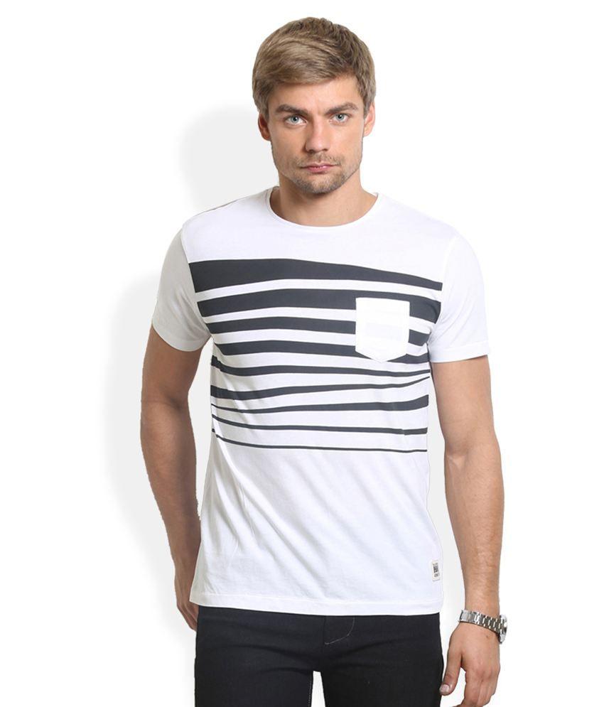HW White Cotton T-Shirt
