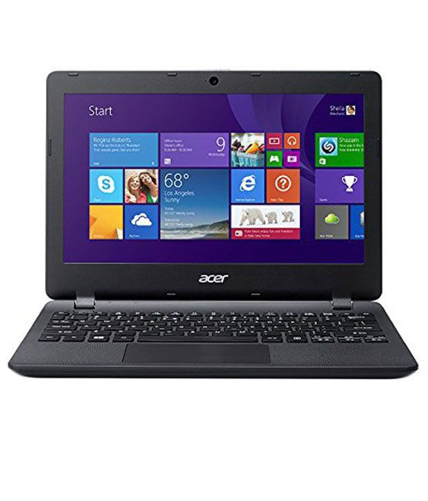 Acer ES1 (Es1-111M) Netbook (Intel Celeron- 2 GB- 500 GB- 29.46cm(11.6)- Windows 8.1) (Black)